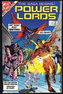 Power Lords Comic Book Cover