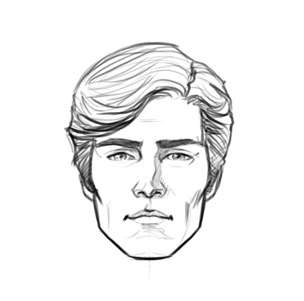 Adam Power head sketch