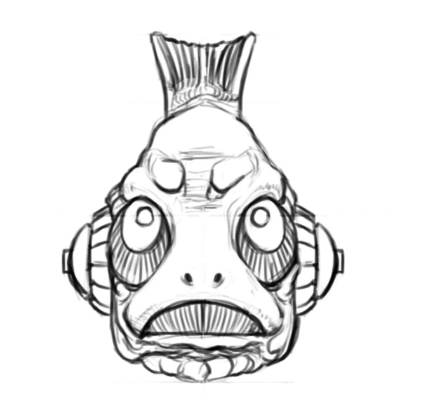 Gripptogg head2 sketch