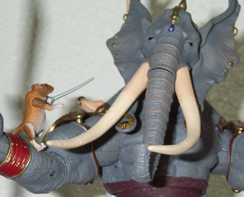Elephant vs Mouse 06